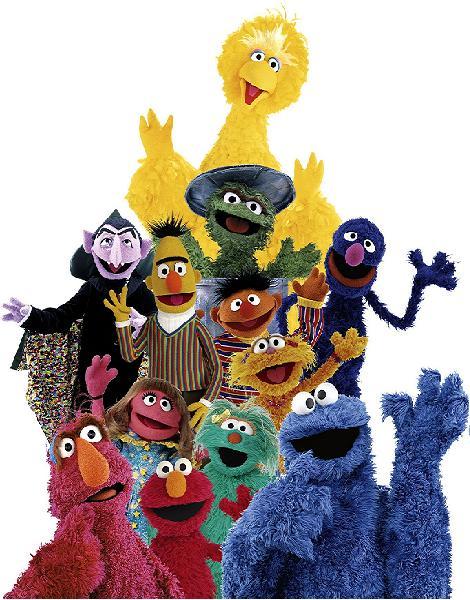 Sesame Street Muppets Group