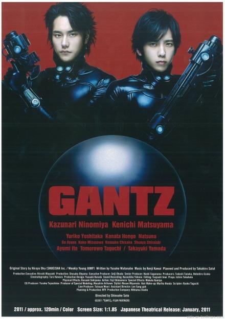 live action de GANTZ Gantzposter11